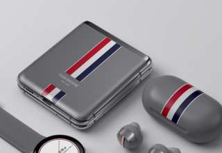 Galaxy Z Flip Thom Browne.