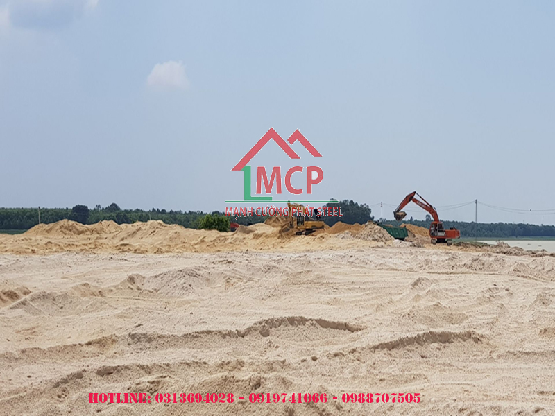The latest quotation of construction sand in Ho Chi Minh City on April 28 2020